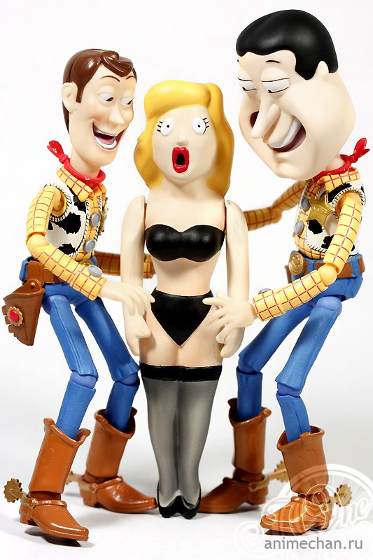 Woody and Quagmire