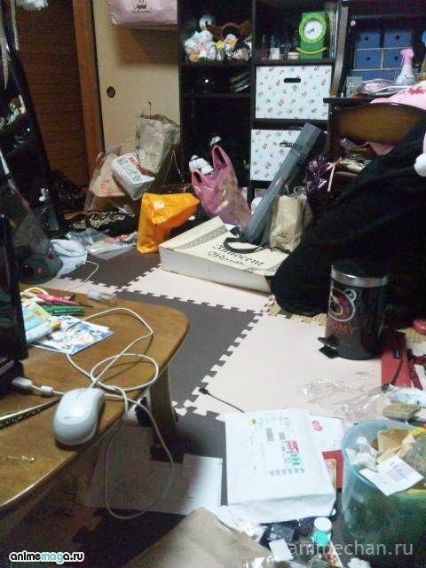 Жилища японских девушек-отаку