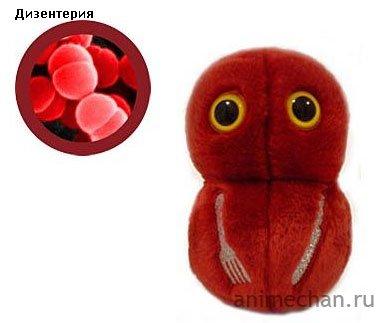 Игрушки-микробы
