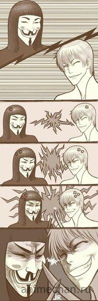 Bleach vs V