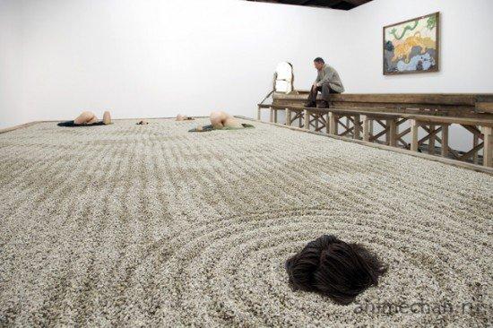Новый японский сад камней
