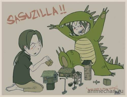 Sasudzilla!