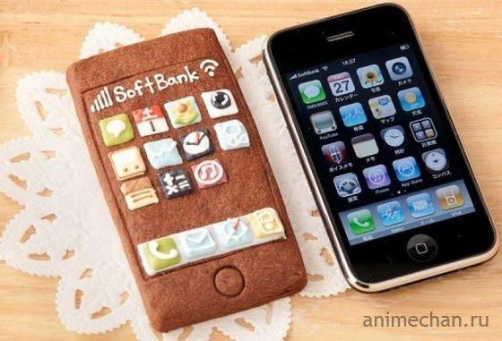 iPhone-печеньки из Японии