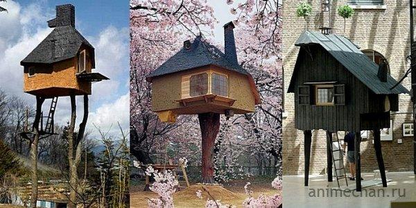 Чайные домики на курьих ножках: строительные эксперименты Терунобу Фудзимори