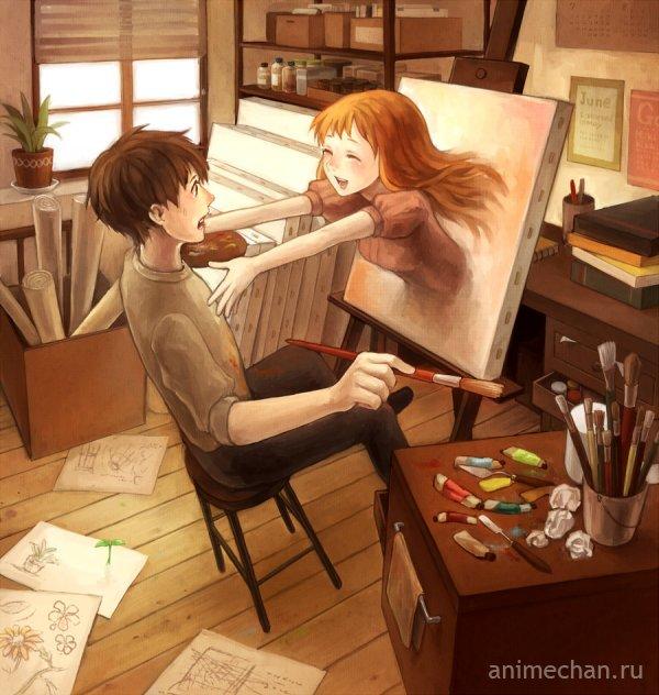 Нарисуй себе девушку (или здравствуй создатель)