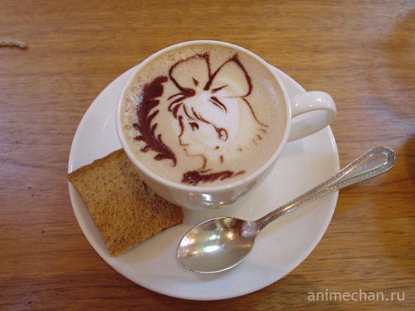 Кики на кофейной пенке