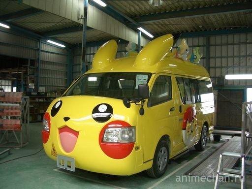 Японские школьные автобусы