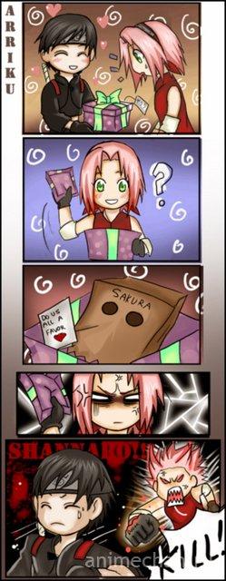 Подарок для Сакуры
