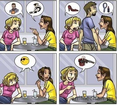 О чем говорят женщины