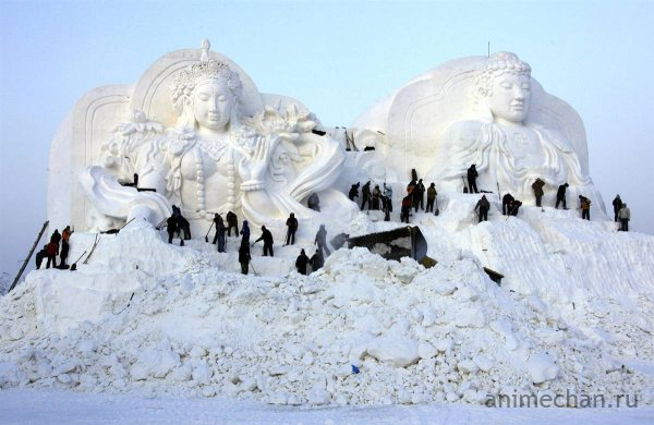 26-й фестиваль ледовых скульптур в Харбине