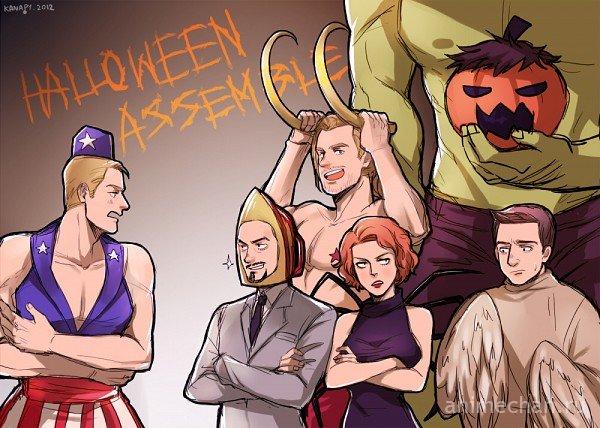 Хеллоуин Мстителей