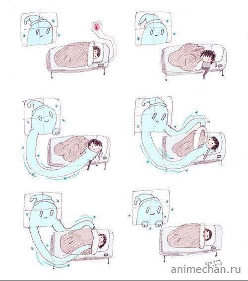 Как я просыпаюсь зимним утром