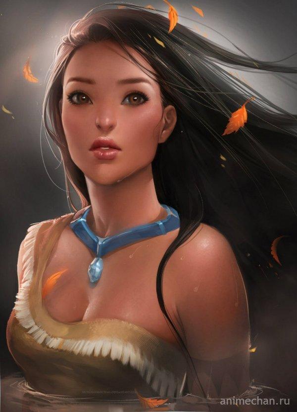 Волшебный арт от *sakimichan