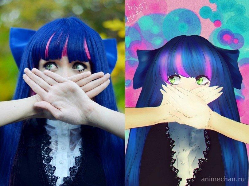 Как сделать аниме картинку из фото