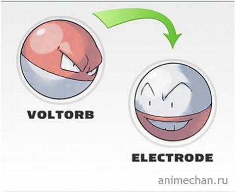 Эволюция покемонов