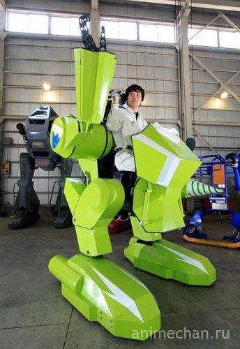 Японцы уже взялись за боевых роботов.