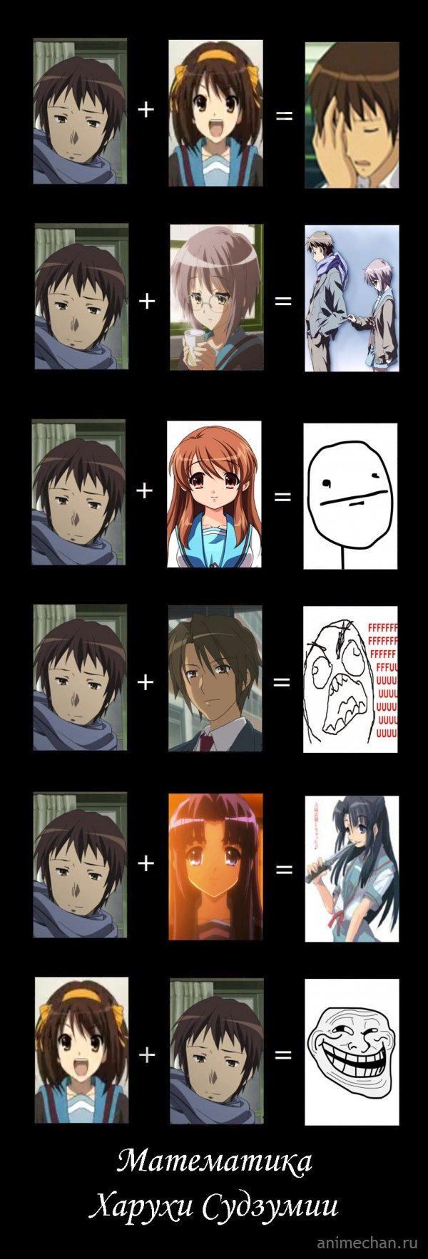 Математика Харухи Судзумии