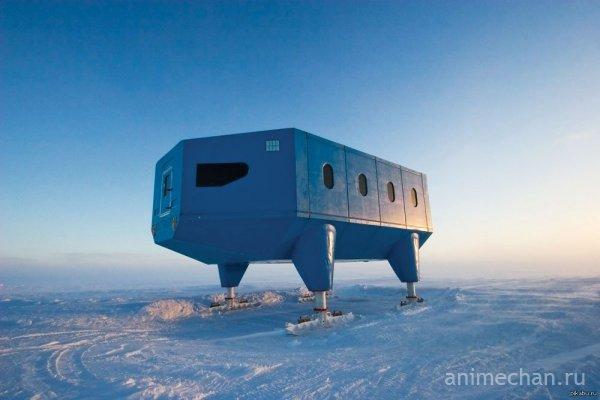 Просто научная база в Антарктике