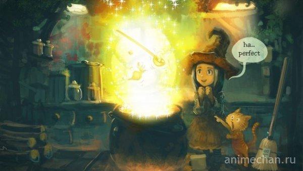 Ведьма и её кот