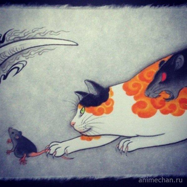 Коты-якудза