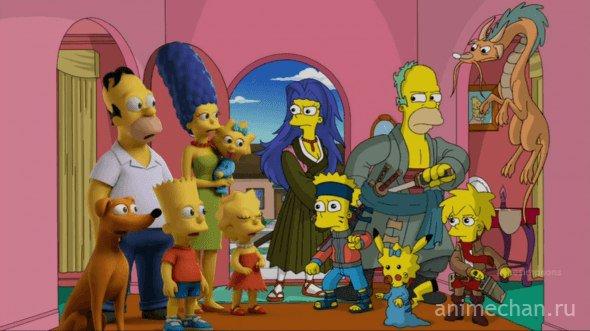 Симпсоны: аниме-версия