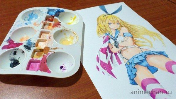 Супер классные рисунки акварелью