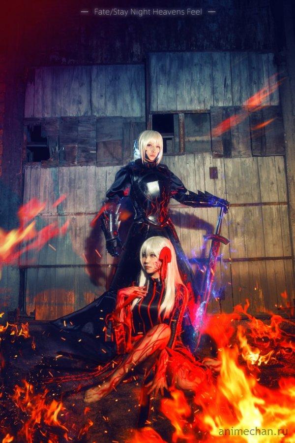 Косплей Fate/Stay Night: Heaven's Feel