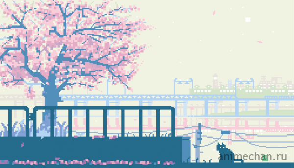 Senbon-Zakura 8-bit