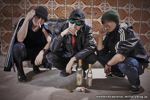 Японский косоплей: русский ОМОН и русские гопники