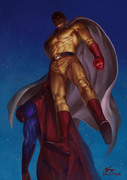 Сайтама против Супермена