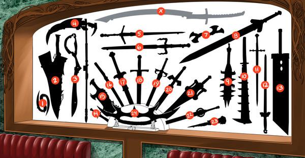 Тест на знание несуществующего оружия.