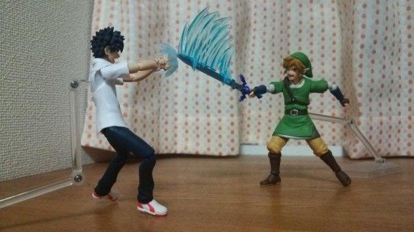 Томный vs Линк