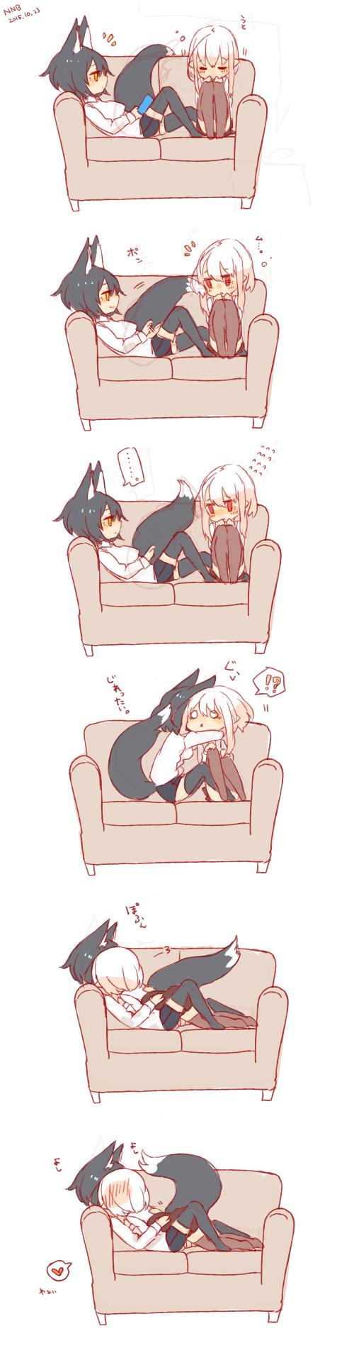 Лиса и зайчик