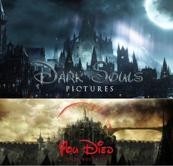 Dark Souls X Disney