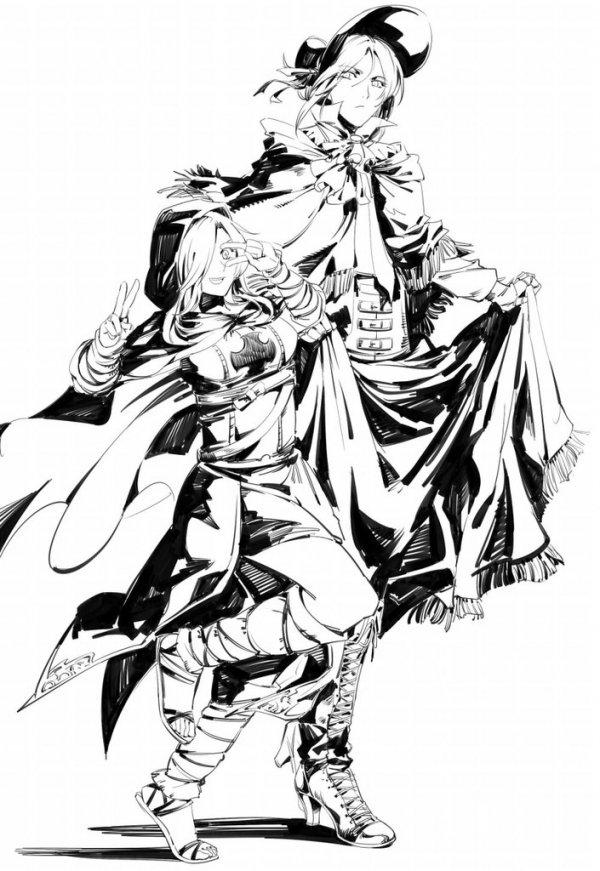 Dark Souls and Bloodborne ART