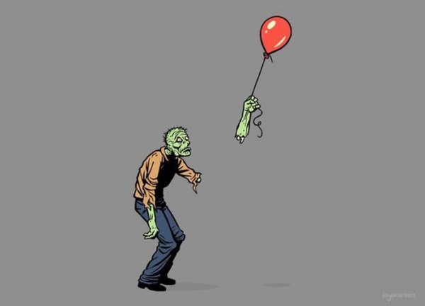 Быть зомби - плохо!