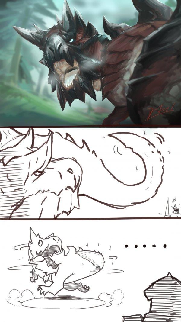 """""""Суровый"""" дракон"""