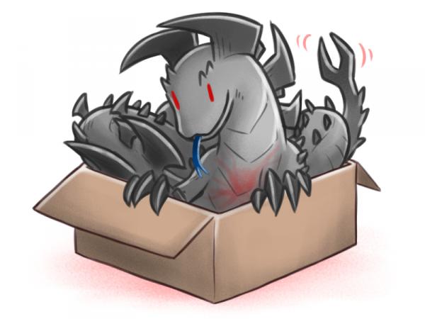 Существа из коробки