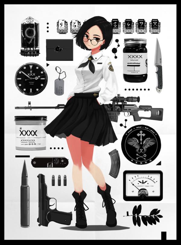 Набор школьницы