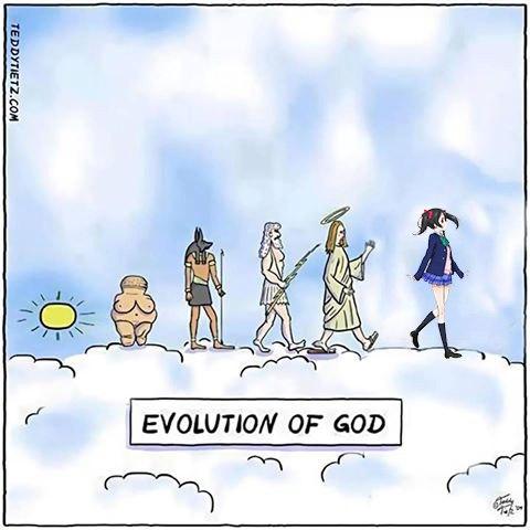 Эволюция божеств