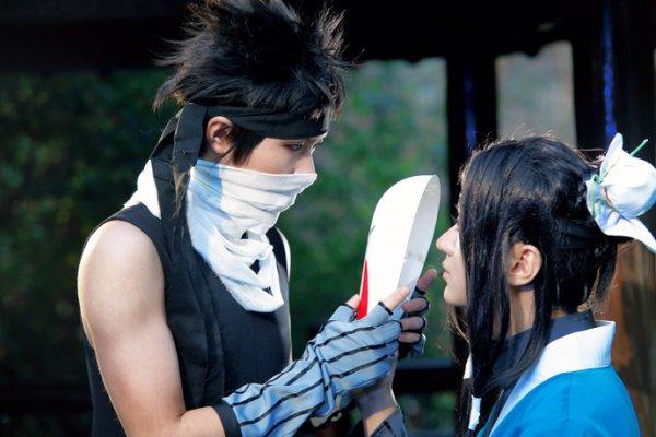 Zabuza Momochi and Haku Cosplay by Baozi and Hana