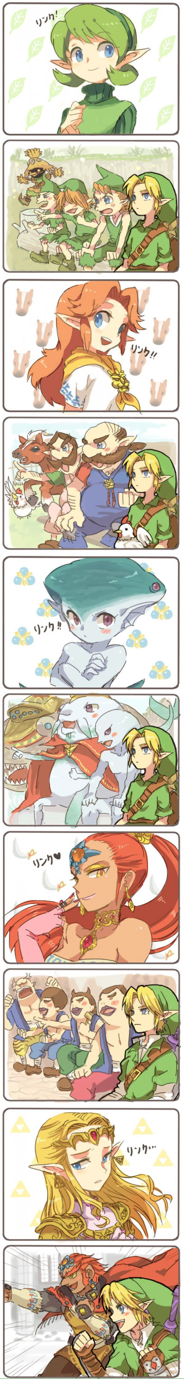 Who is the prettiest sage In Hyrule!