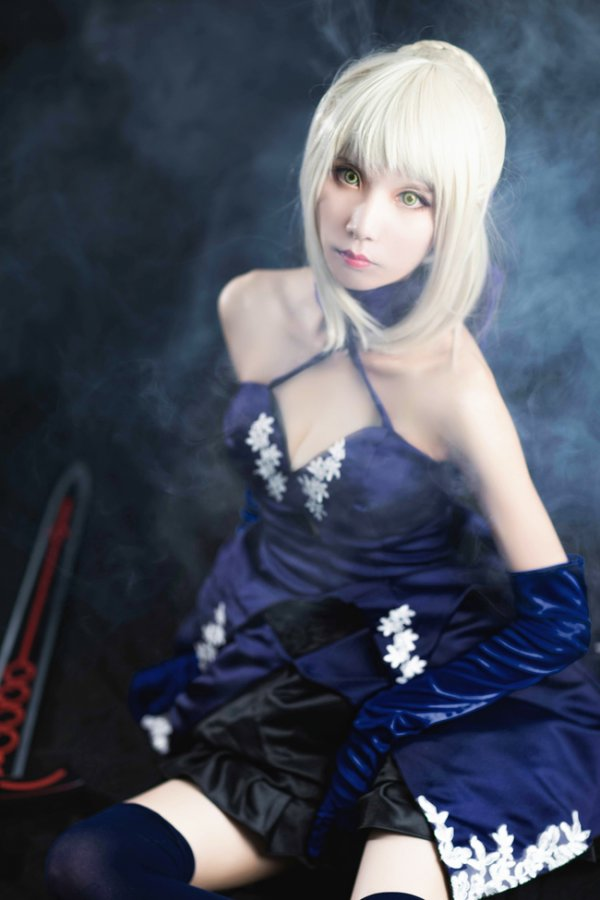 Cosplay battle: Everyone can be Saber