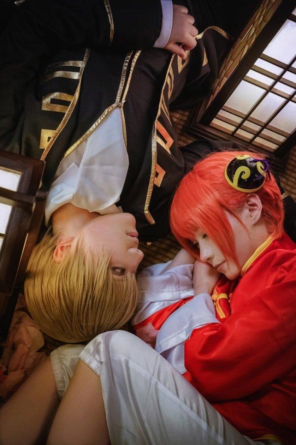 Gintama Cosplay by Meter &  yilen