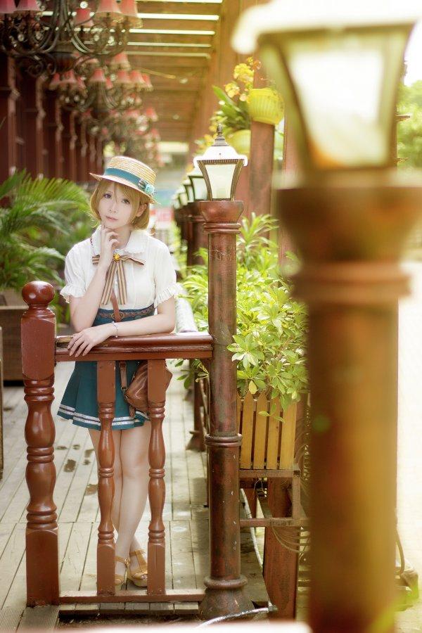 Koizumi Hanayo Cosplay by Crome Moe