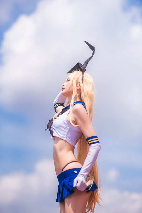 Shimakaze Cosplay by  遇无几友