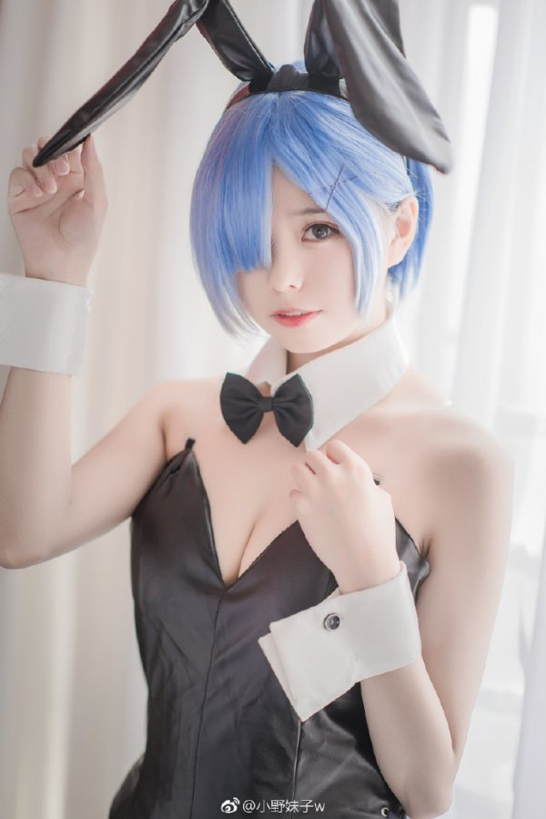 Bunny Rem Cosplay by 小野妹子w