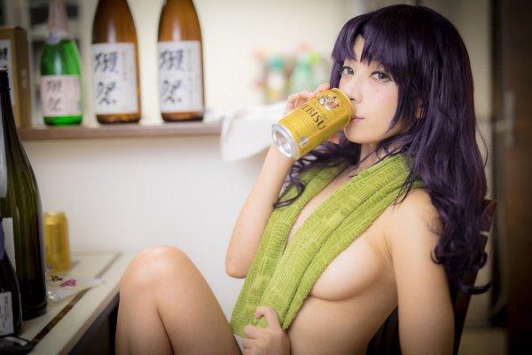 Misato Katsuragi Cosplay by Saki Miyamoto