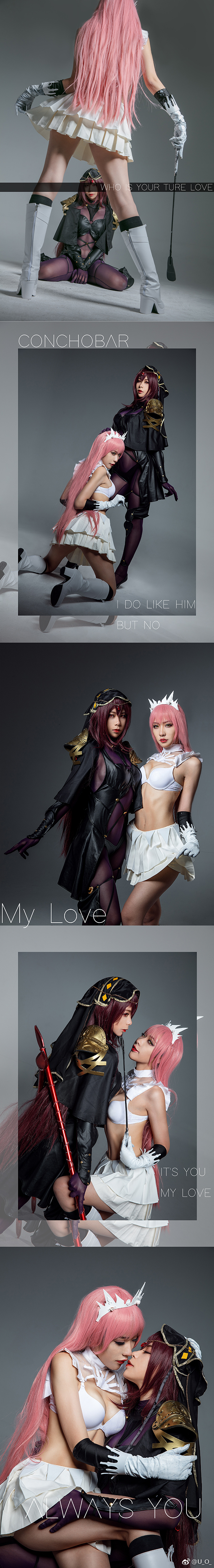 Medb and  Scathach Cosplay