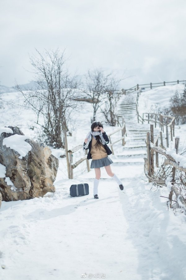 JK Cosplay in snow